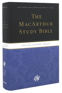 ESV Macarthur Study Personal Size (Black Letter Edition)