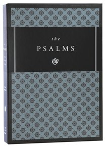 ESV Psalms Black (Black Letter Edition)