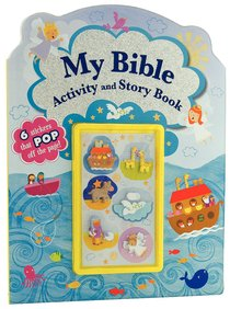 My Bible Activity and Story Book (With 6 Bible Stickers)