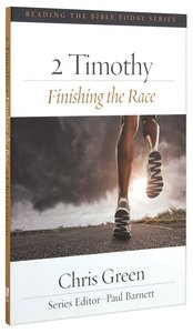 Rtbt:2 Timothy - Finishing the Race
