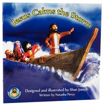 Jesus Calms the Storm (Jesus Little Book Series)