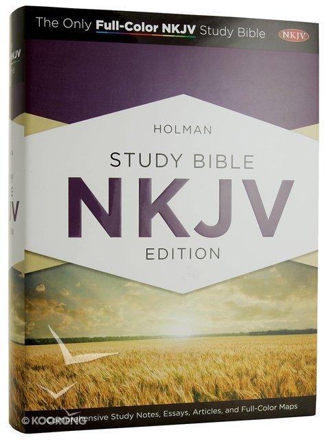 NKJV Holman Study Bible (Full Colour)