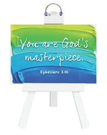 Easel Inspirations: You Are Gods Masterpiece (4 1/2 X 6 1/2)