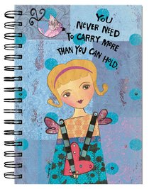 Spiral Journal: Guardian Angel You Never Need to Carry More Than You Can Hold