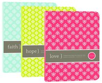 Impulse Journals Set of 3: Faith, Hope, Love