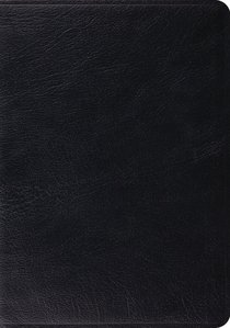 ESV Study Bible Black (Black Letter Edition)