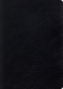 ESV Study Bible Large Print Black (Black Letter Edition)