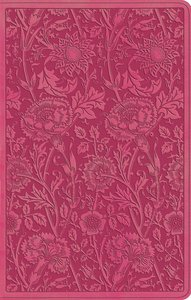 ESV Ultrathin Bible Trutone Berry Floral Design (Black Letter Edition)