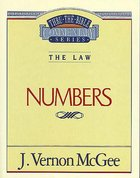 Numbers (Thru The Bible Commentary Series)
