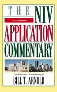 1 and 2 Samuel (Niv Application Commentary Series)