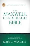 The Maxwell Leadership Bible, NIV