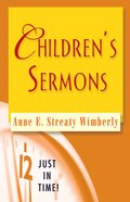 Childrens Sermons (Just In Time Series)