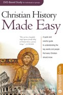 Christian History Made Easy (DVD Leader Pack) (Rose Bible Basics Series)
