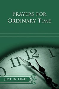 Ordinary Time (Just In Time Series)