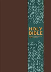 NIV Pocket Brown Bible