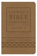 1 Samuel Thru 2 Kings (Deluxe Handy Size) (#03 in Laymans Bible Commentary Series)