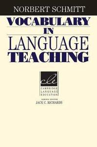 Vocabulary in Language Teaching