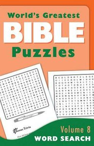 Word Search (#08 in Worlds Greatest Bible Puzzles Series)