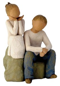 Willow Tree Figurine: Brother and Sister