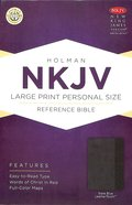NKJV Large Print Personal Size Reference Bible Slate Blue