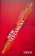 NIV Popular Paperback New Testament Red, I Am...