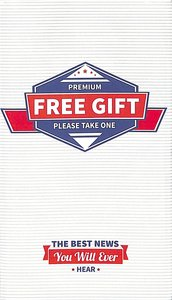 Premium Free Gift: The Best News You Will Ever Hear (25 Pack)