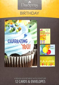 Boxed Cards Birthday: Bright Birthday