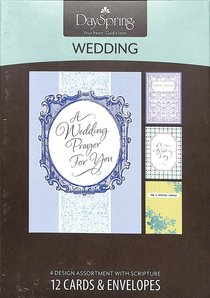 Boxed Cards Wedding: Blessings
