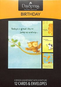 Boxed Cards Birthday: Happy Critters