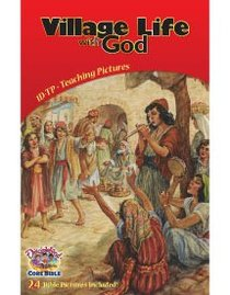 Dlc D1: Discovering Gods Greatness Teaching Pictures Ages 6-8 (Village Life With God) (Discipleland Level 1, Ages 6-8, Qtrs Abcd Series)