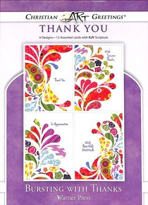 Boxed Cards: Thank You - Bursting With Thanks
