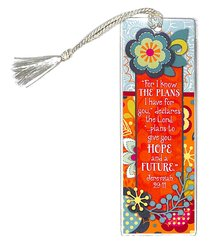 Bookmark Tassel: For I Know the Plans I Have For You...