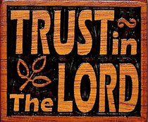 Magnet: Trust in the Lord