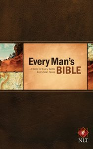NLT Every Mans Bible (Black Letter Edition)