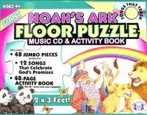 Jumbo Floor Puzzle: Noahs Ark (Incl; Song & Activity Cd)