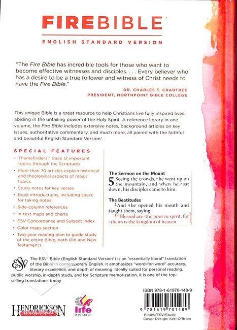 ESV Fire Study Bible