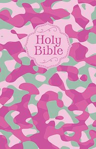 NKJV Camouflage Bible Pink Camouflage (Red Letter Edition)