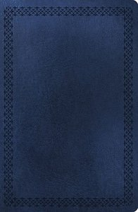 NKJV Super Giant Print Reference Bible Dark Blue (Red Letter Edition)