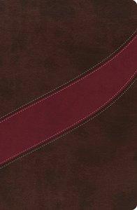 NASB Macarthur Study Bible, Brown/Burgundy