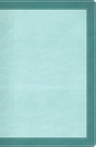 NIV Womans Study Bible Turquoise/Sea Foam Green