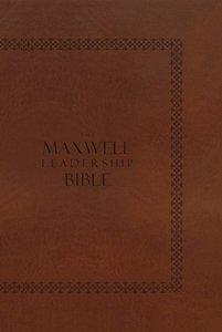 NIV Maxwell Leadership Bible Edition Tan