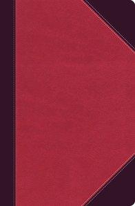 NKJV Ultraslim Reference Bible Brown/Pink (Red Letter Edition)