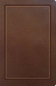 NKJV Ultraslim Reference Bible Camel (Red Letter Edition)