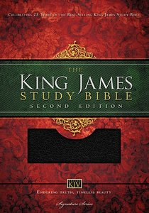 KJV Study Bible Black Indexed (Second Editon)
