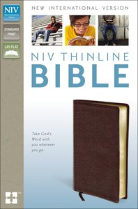 NIV Thinline Bible Burgundy (Red Letter Edition)