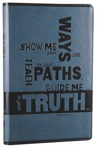 NIV Bible For Kids Slate Blue (Red Letter Edition)