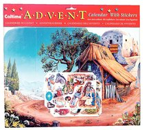 Advent Calendar: Bible Scene With Stickers