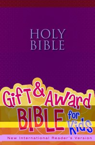 NIRV Gift & Award Bible Burgundy