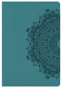KJV Compact Ultrathin Bible Teal Leathertouch