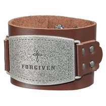 Leather Wriststrap: Forgiven Brown